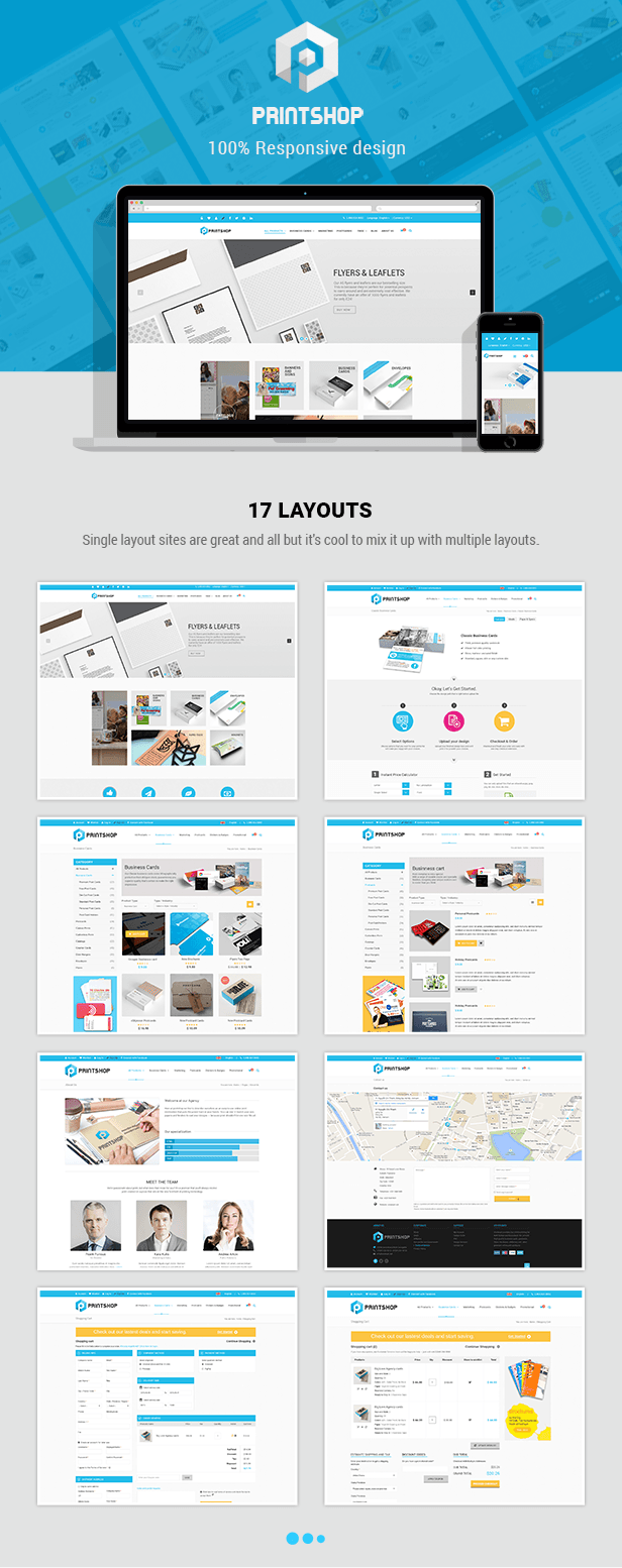 Printshop responsive html printing template themeforest item we have done our utmost to quality and modern template we believe that our work will appreciate and become functional tool maxwellsz
